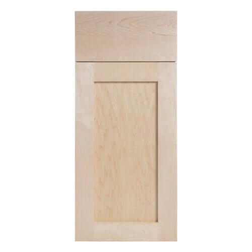 Maple Shaker Door w/ Slab Drawer