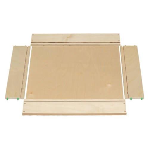 Dowel Drawer Box Unassembled