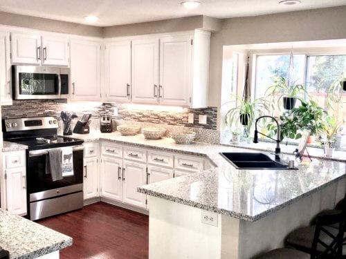 Kitchen with Covington Cabinet Door