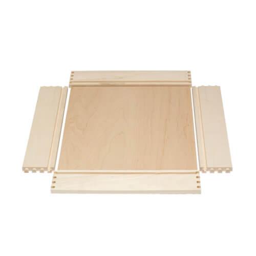 Maple Dovetail Drawer Box Unassembled